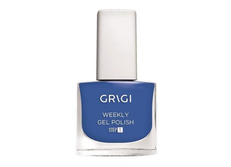 GRIGI WEEKLY GEL NAIL POLISH NEW FORMULA EXTRA STRONG No 623 BLUE DENIM