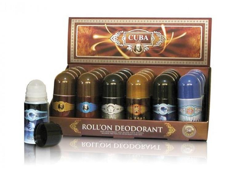 DEO ROLL-ON CUBA GOLD  50ML
