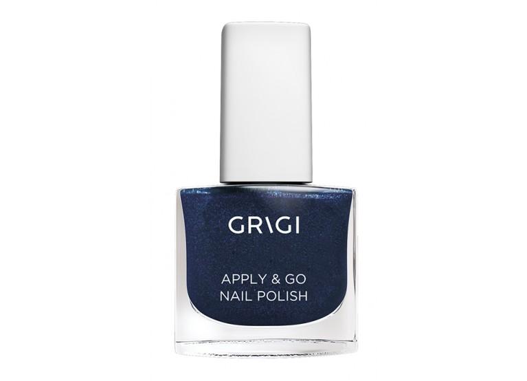 GRIGI APPLY & GO NAIL POLISH No 322 GLITTER DARK BLUE