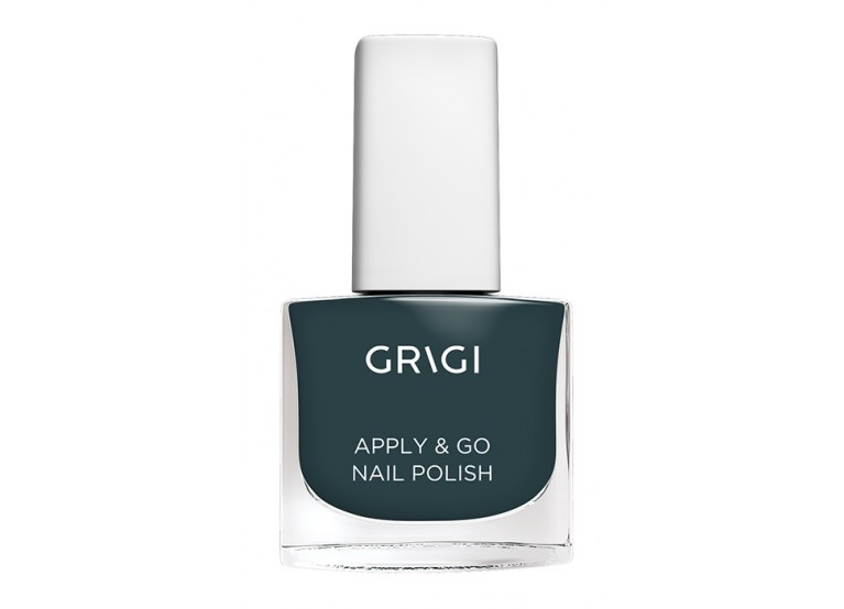 GRIGI APPLY & GO NAIL POLISH No 323 METALLIC GREEN