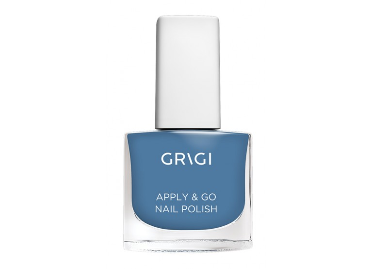 GRIGI APPLY & GO NAIL POLISH No 356 STEEL BLUE