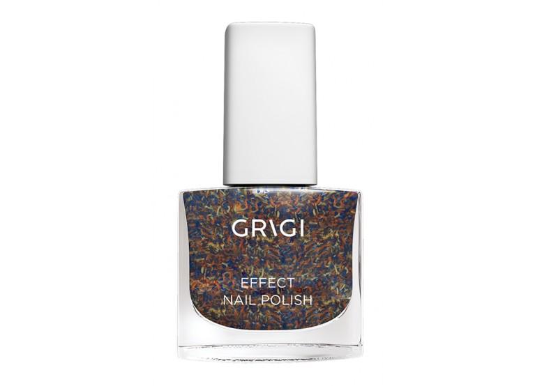 GRIGI EFFECT NAIL POLISH No 714 BLUE RAINBOW CONFETTI