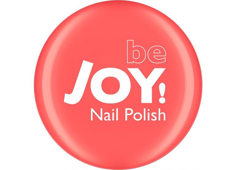 BeJOY NAIL POLISH No 150 SPARKLY SALMON PINK