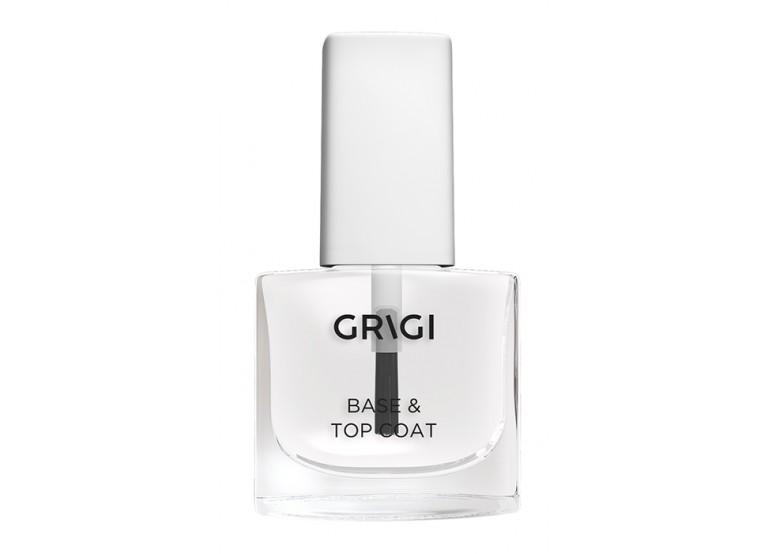 GRIGI NAIL CARE-DOUBLE USE BASE &TOP COAT No 105