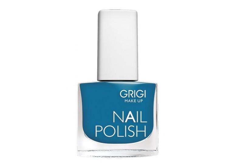 GRIGI NAIL POLISH No 128 WARM STEEL BLUE