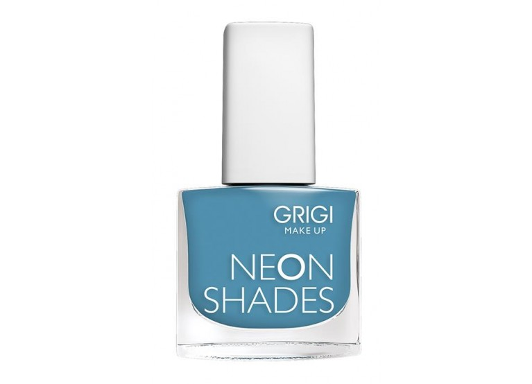 GRIGI NAIL POLISH / NEON SHADES No 136 FLUO STEEL BLUE