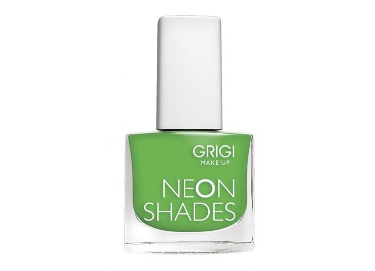 GRIGI NAIL POLISH / NEON SHADES No 142 NEON DARK GREEN
