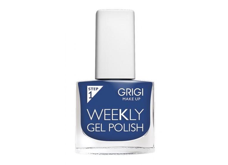 GRIGI WEEKLY GEL NAIL POLISH No 588 NAVY BLUE