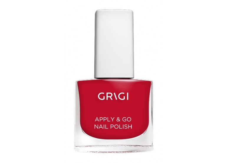 GRIGI APPLY & GO NAIL POLISH No 118 LIGHT CORAL RED
