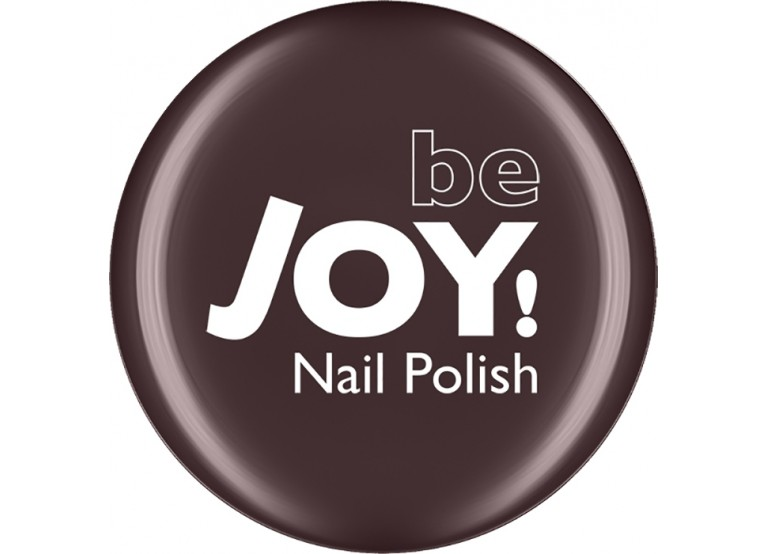 BeJOY NAIL POLISH Νο 208 DARK GREY BROWN