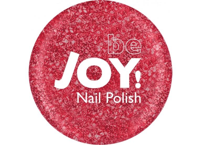 BeJOY NAIL POLISH Νο 222 GLITTER RED
