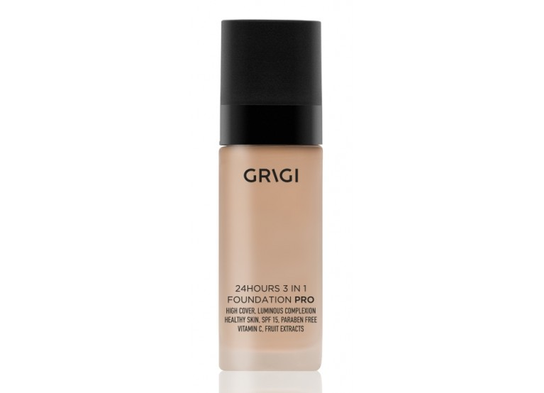 GRIGI PRO 24H 3 IN 1 FOUNDATION No 43 NUDE DARK