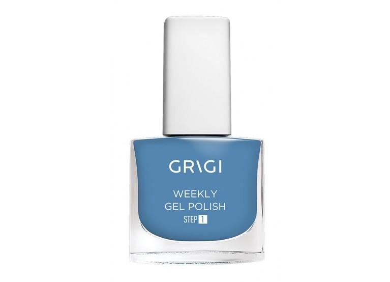 GRIGI WEEKLY GEL NAIL POLISH No 514 STEEL BLUE