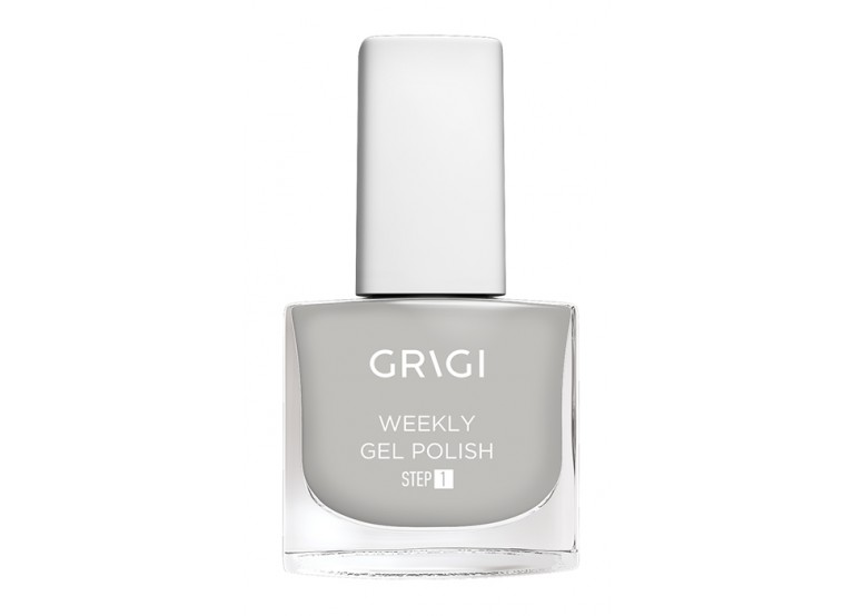 GRIGI WEEKLY GEL NAIL POLISH No 547 ICE GREY