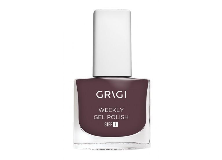 GRIGI WEEKLY GEL NAIL POLISH No 553 MARON