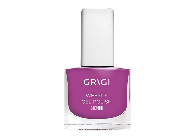 GRIGI  WEEKLY GEL NAIL POLISH No 594 WARM PINK FUCHSIA